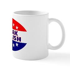 OvalStickerSpeakEnglish Small Mug