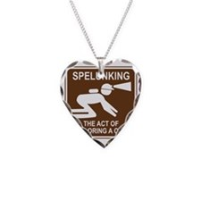 brown_spelunking_oddsign1 Necklace