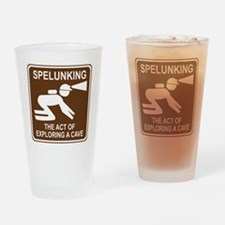 brown_spelunking_oddsign1 Drinking Glass