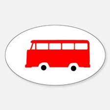 RED1 Sticker (Oval)