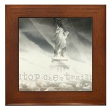 liberty chemtrails 2500Lt Framed Tile