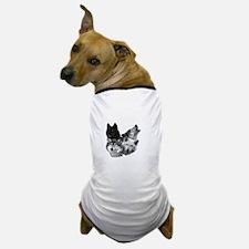 Wolves Moon 3 Dog T-Shirt