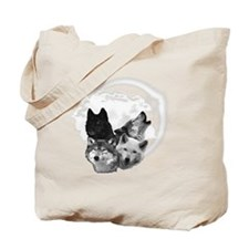 Wolves Moon 3 Tote Bag