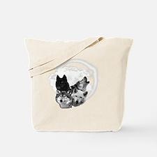Wolves Moon 3 Tote Bag