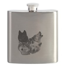 Wolves Moon 3 Flask