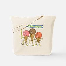 scoop_troop_dark_shirts Tote Bag