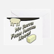 butterUdder Greeting Card