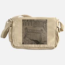 Home Sheep Home Messenger Bag