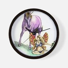 unicorn Wall Clock