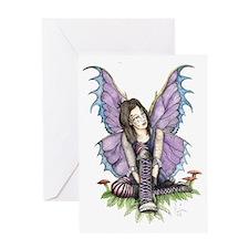 Purplelaces Greeting Card