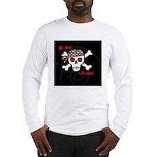 rockinAUTmama-blkstarrybg-pin Long Sleeve T-Shirt