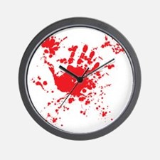massacre Wall Clock