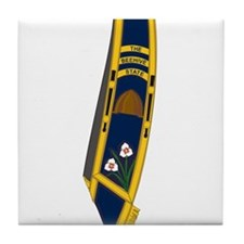Army Band Tile Coaster