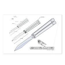 butterfly knife postcards butterfly knife post card design template. Black Bedroom Furniture Sets. Home Design Ideas