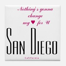SanDiego_10x10_NothingGoingToChangeMy Tile Coaster