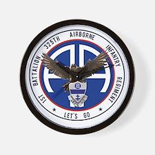 Falcon v1 - 1st-325th Wall Clock