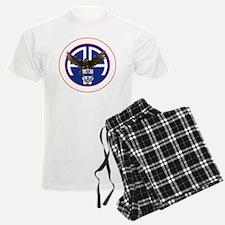 Falcon v1 - 1st-325th - white Pajamas