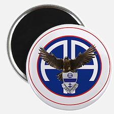 Falcon v1 - 1st-325th - white Magnet