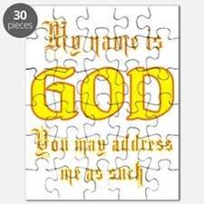 name is god Puzzle