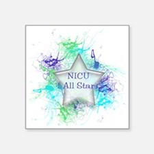 "boynicuallstar Square Sticker 3"" x 3"""