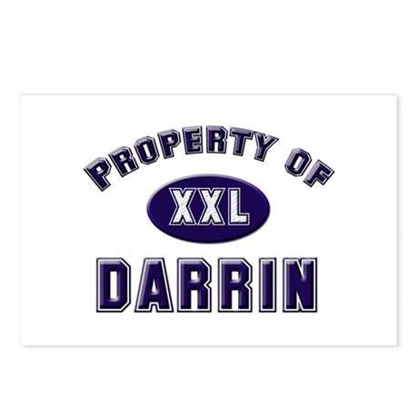Property of darrin Postcards (Package of 8)