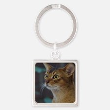 Abyssinian AA025D-018 Square Keychain