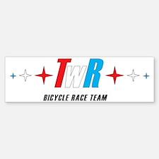 twr design Bumper Bumper Sticker
