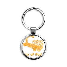 rigsofrods.com-logo Round Keychain