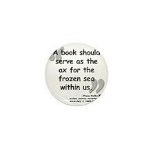 Kafka Book Quote Mini Button
