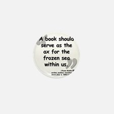 Kafka Book Quote Mini Button