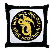 transparent exp silat small Throw Pillow