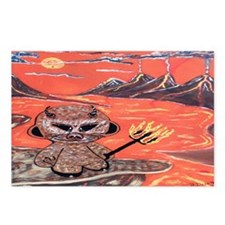 madrobotdevil1 Postcards (Package of 8)