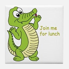 Join me for lunch Tile Coaster