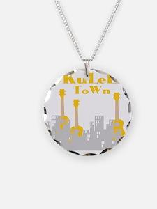 Ukulele town t-shirts Necklace