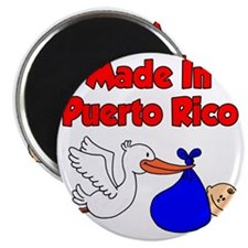 Made In Puerto Rico Boy Magnet