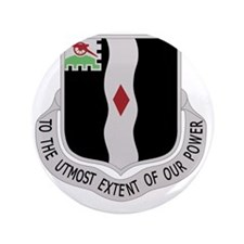 "60th lnfantry Reginent 3.5"" Button"