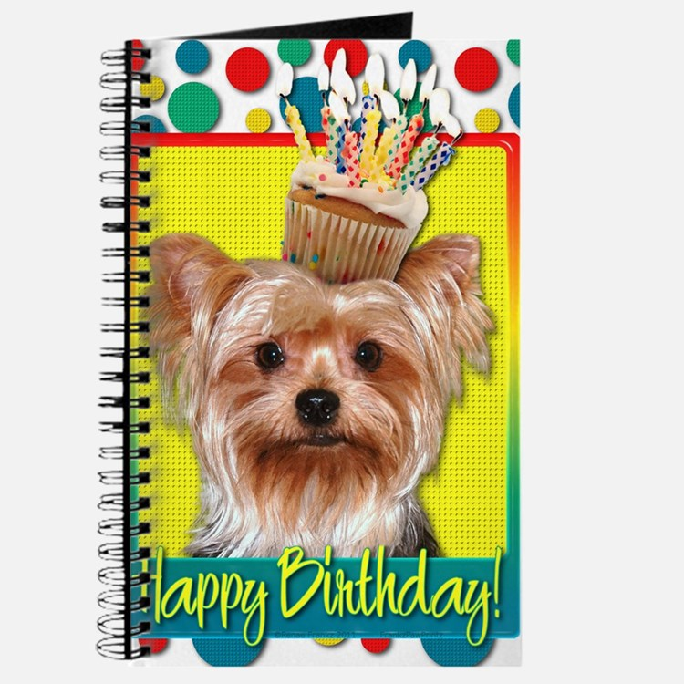 BirthdayCupcakeYorkie Journal