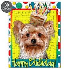BirthdayCupcakeYorkie Puzzle