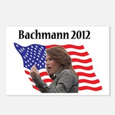 bachman 2012 flag col Postcards (Package of 8)