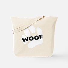 woof2 Tote Bag