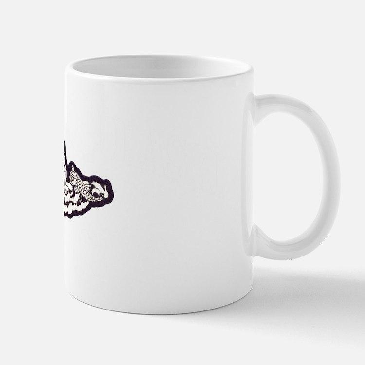 cpulaski white letters Mug