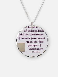 declaration cornerstone Necklace