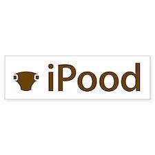 iPood Bumper Bumper Sticker
