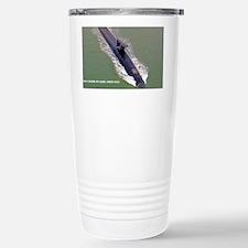 cpulaski sticker Stainless Steel Travel Mug