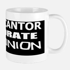 Cantor-Corporate Evil Minion bumper sti Mug
