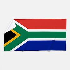 Flag of South Africa Beach Towel