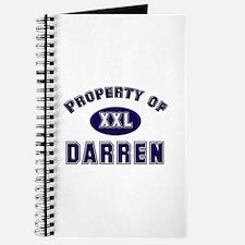 Property of darren Journal