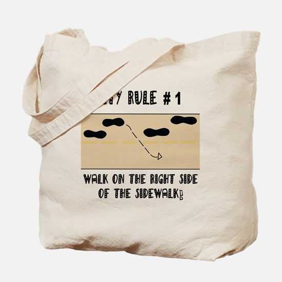 RIGHT SIDE Tote Bag