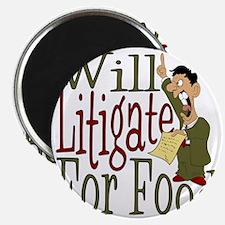 Will Litigate Magnet
