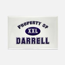 Property of darrell Rectangle Magnet